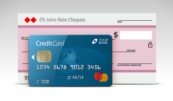 Credit Card Cheques