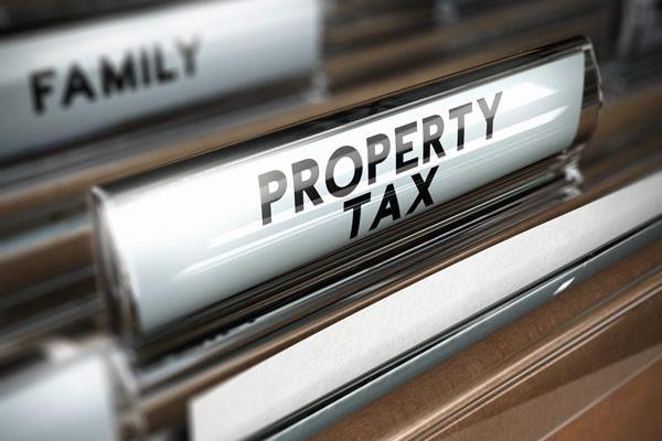 Property Tax File Folder