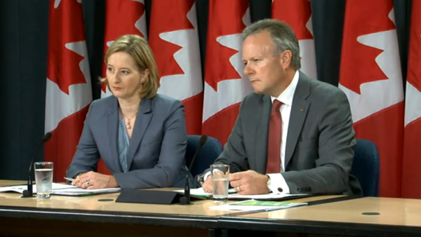 Bank of Canada chief Stephen Poloz and Senior Deputy Governor Carolyn Wilkins