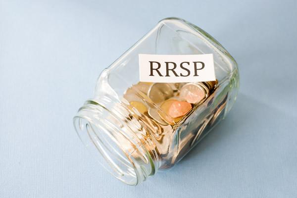 RRSP Change Jar