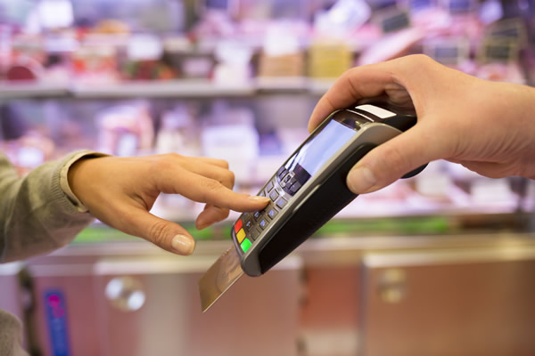 In-Store Credit Card Transaction