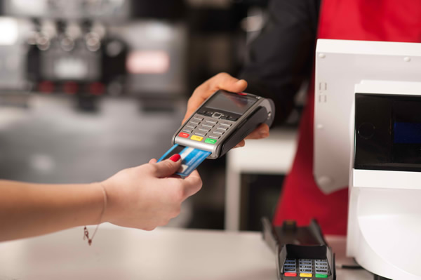 Small Business Accepting Credit Card Payment