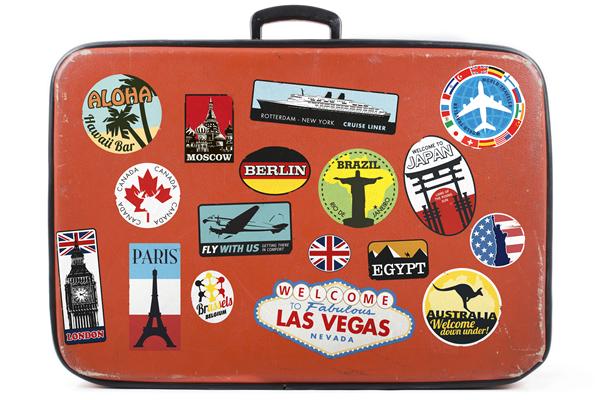 Suitcase Around the World