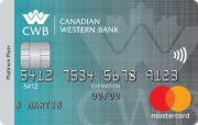 Canadian Western Bank Platinum Plus Mastercard