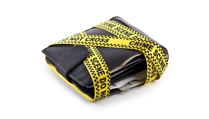Crime Scene Wallet