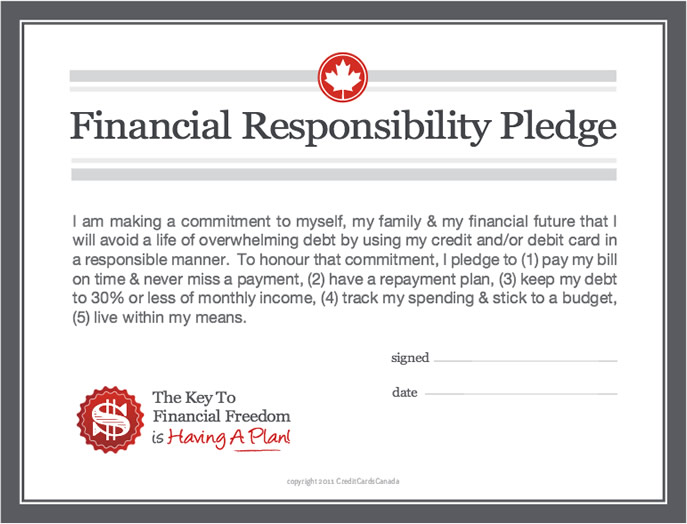 Financial Pledge