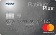 MBNA Platinum Plus Mastercard