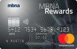 MBNA Rewards Mastercard