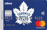 Toronto Maple Leafs® MBNA Rewards Mastercard®