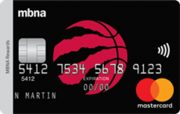 Toronto Raptors® MBNA Rewards Mastercard®