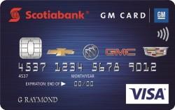 Scotiabank GM VISA Card