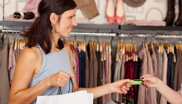 Shopping with Retail Credit Card
