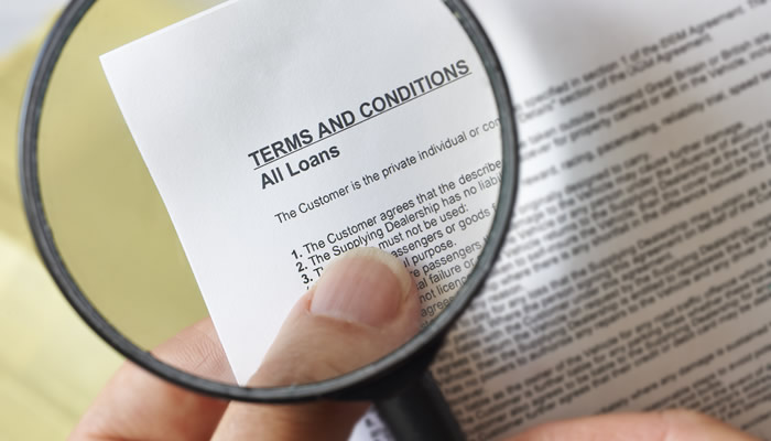 Terms and Conditions Document
