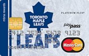 Toronto Maple Leafs® MBNA Rewards MasterCard® Credit Card