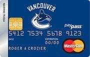 Vancouver Canucks® MBNA Rewards MasterCard® Credit Card