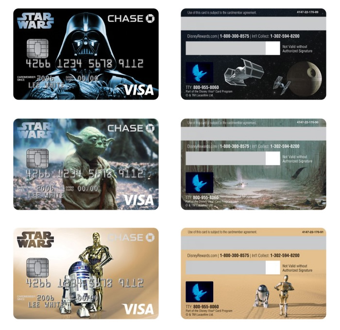Star Wars Credit Cards