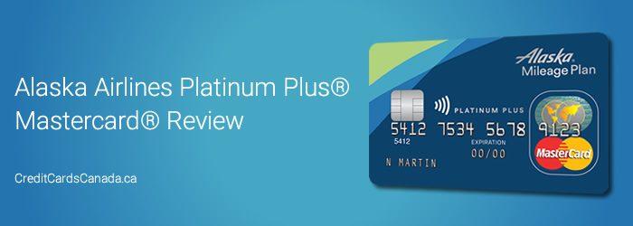 Alaska Credit Card Login >> Alaska Airlines Platinum Plus Mastercard Review