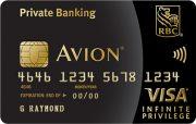 RBC Avion Private Banking Visa Infinite Privilege* Card