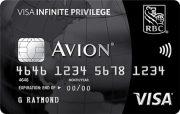 RBC Avion Visa Infinite Privilege* Card