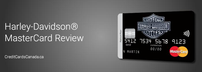 Harley Davidson MasterCard Review