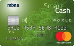 MBNA Smart Cash World Mastercard