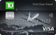 TD® First Class Travel Visa Infinite* Card